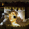 Outdoor building projection - click for more